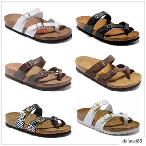 Boken Mayari 805 Arizona Gizeh Hot sell summer Men Women flats sandals Cork slippers unisex casual shoes print mixed colors Size US3-15
