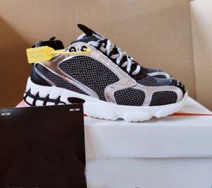 2020 Primavera Moda Hombres Mujeres ocasionales zapatos de lujo de la zapatilla de deporte Spiridon jaula de malla transpirable ligero usable hombres zapatos de diseño