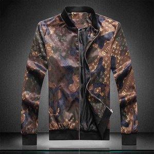 Hot New Men's Designer Jacket Jacket Bee Print Harajuku Hip Hop Trench Coat Medusa Baseball Luxury Jacket Size M-3XL