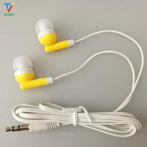 bunte Einweg-Kopfhörer preiswerteste neue In Ohr Kopfhörer für Moible Phone 3,5 mm Earbud Kopfhörer für MP 3 4