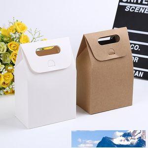 10 * 6 * 16см Gift Box Крафт Craft сумка с ручкой Мыло Конфеты Хлебобулочные Cookie Печенье Упаковка Бумажные коробки