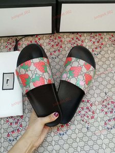 xshfbcl lusso Marca Slide sandals Fashion slippers for men women with 2020 Hot flower printed unisex Flip flop beach slipper size 35-46