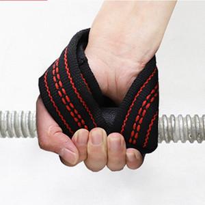 1Pair 8 Lift Gym Подъемных ремней Грузоподъемного Wrist Вес пояс бодибилдинг перчатка Спорт Protecive Аксессуары Ремни tdwm #