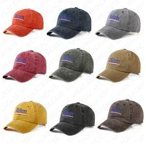 Biden 2020 Mektupları Baskı Visor Cap ABD Seçim Biden Beyzbol Caps Yaz Nakış Tasarım Güneş Şapka Spor Plaj Cap Butik D7612 Peaked