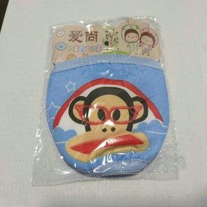 Дети маски Мода милые лица Респиратор cubrebocas tapabocas ткань маски для лица Детская ребенка маска мультфильма теплая чистая двойная маска пыли ItJNQ