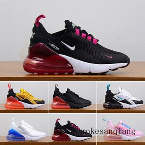 2019 Kids Athletic Shoes Children 27c Basketball Shoes Wolf Grey 27c Toddler Sport Sneakers for Boy Girl Toddler Chaussures Pour Enfant W5G2