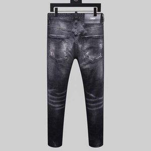 2020 new brand of fashionable European and American men's casual jeans ,high-grade washing, pure hand grinding, quality optimization %11