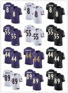2020 Men BaltimoreRaven 8 Lamar Jackson 55 Terrell Suggs 89 Mark Andrews 9 Justin Tucker 44 Marlon Humphrey 15 Brown football Jerseys