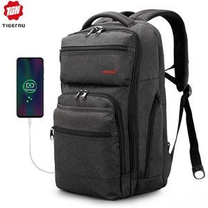 Kaplan köle naylon Bilgisayar seyahat sırt çantası erkekler büyük kapasiteli spor seyahat çantası iş bilgisayar çantası eğlence sırt çantası