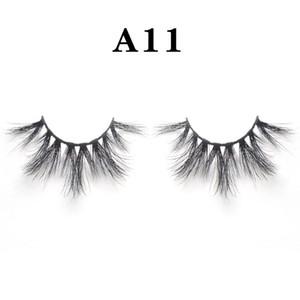 25мм 100% ручная работа натуральный толщиной глаз ресницы тонкие макияж Удлинитель инструменты 3D норка объемные волосы мягкие накладные ресницы