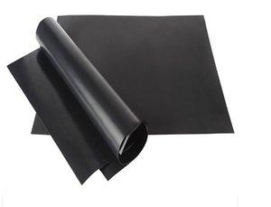 그릴 매트 휴대용 붙지 않는 재사용 만들기 굽고 쉬운 33 * 40CM 블랙 오븐 핫 플레이트 매트 바베큐 DHB293