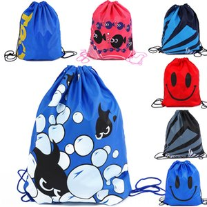 Double-shoulder multi-function clothing storage storage travel clothes sorting bag portable Foldable Fashion beach bag