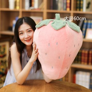 New Fresh Shell Comfort Pillow down Cotton Pineapple Cushion Photo Decoration Soft Strawberry Pillow