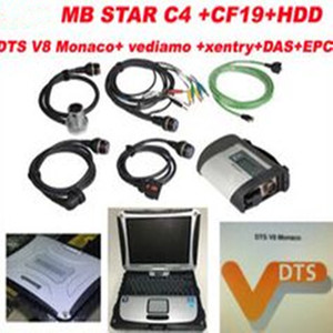 Nuovo V2020.06 mb Star C4 + CF19 + Monaco8 + Vediamo / DTS HDD Xentry diagnostica di sistema compatto 4 Mercedes diagnosi Multiplexer per benz