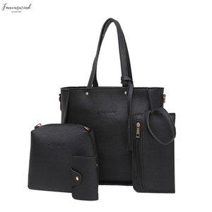 Women Bag Set Top Handle Big Capacity Female Tassel Handbag Fashion Shoulder Bag Purse Ladies Pu Leather Crossbody Bag L10
