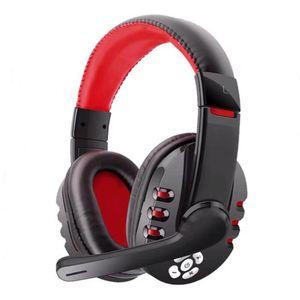 Kostenloser Versand Bluetooth-Kopfhörer-Kopfhörer mit Mic-Lautstärkeregler für PC Xbox One PS4 HiFi drahtlose Kopfhörer-Kopfhörer Stirnband-Kopfhörer