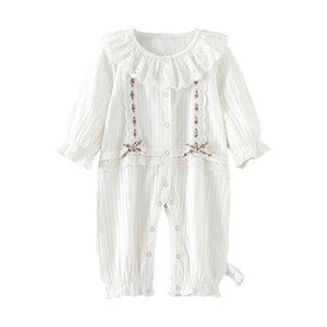 baby girl clothes newborn lace infant girls set autumn baby rompers long sleeve cotton kids clothing 0-2Y