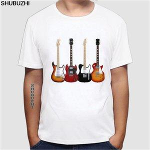Marken-Kleidung Männer-T-Shirt Wählen Sie Ihre Waffe - Herren Lustige Gitarren-T-Shirt Elektro-Akustik-Bass-Saiten-Männer T-Shirt