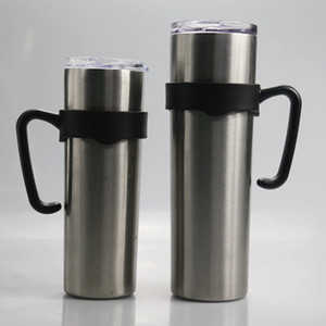 20 oz / 30 oz Cup Handles Tumbler maniglia Cup Holder Replacement portatile Holder manico in plastica della mano per tumbler magro