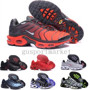 TN Pus Triple Black White mens womens Running Shoes blue red runners Mens Trainers jogging breathable Sneakers size 40-46