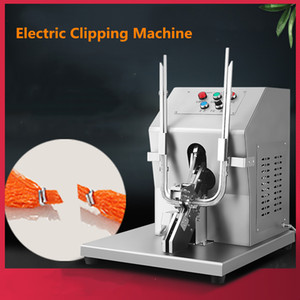 U-shaped electric double clipper machine sausage casing fruit vegetable onion grapefruit mesh bag tying clipping machine with cutting price