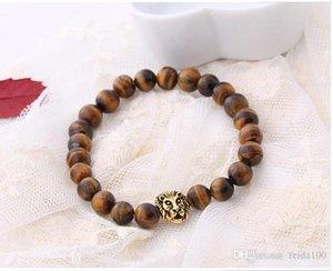 Ladies bracelet Bracelet Fashionable Natural Lava Volcanic Rock Lion Head Buddha Bead Bracelet WL702