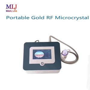 Free shipping fractional rf microneedle machine repair damaged skin obese lines acne marks with 3 probes beauty equipment