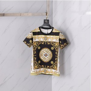 Luxury Medusa fashion T-shirt summer breathable T-shirt casual simple men and women street short sleeve M-2XL 002