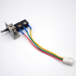 Günstige Gas-Warmwasserbereiter Teile 5 PCS Gas-Wasser-Heizung Ersatzteile Mikroschalter mit Halterung Universal-Modell geeignet für die meisten Ventilanordnung