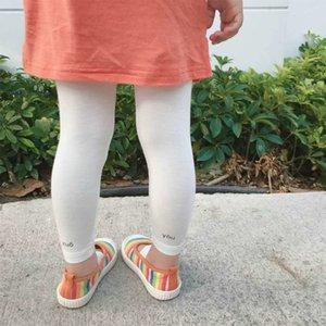 Leggings culotte vêtements de culotte pour enfants 2020 été mince fille leggings modales pantalons enfants pantalons longueur cheville