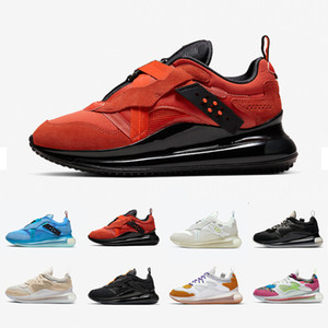 Nike Air max 720 Slip OBJ airmax Team Orange Mens Running shoes Summit White Triple Black University Blue Multi Color Desert Ore 720s men women sports sneakers