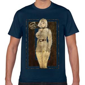 Топы T Shirt Men thicc хентай аниме толстые девушки комиксы ahegao косплей Vogue Vintage Geek Выборочная Мужской Tshirt XXX