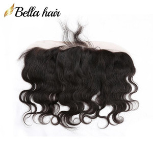 Body Wave Ear to Ear Lace Frontal Closure Indian Human Hair Extensions 13*4 Lace Closure Free Shipping Bella Hair Products