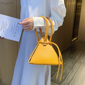Triangle Shape Crossbody Bags For Women 2020 Designer Bags Brand Girls Purse And Handbags Tote Bags For Women