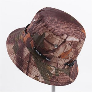 Fisherman hat unisex flower cloth basin cap casual flat top wide hat outdoor sunscreen visor