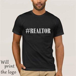 Karma etiket Emlakçı Erkekler T Shirt