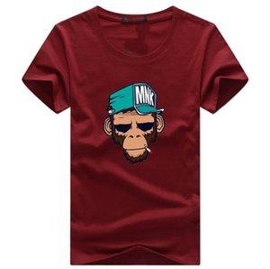 TShirts dos homens Plus Size S-5XL Camiseta Homme Men Summer manga curta camiseta masculina TShirts Camiseta T-shirt DX18