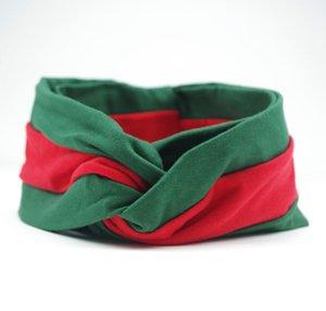 Designerheadband Elastik Kadınlar BrandHeadbands Kız Retro Turban Lüks Saç Bantları Eşarp Saç Aksesuarları Yeşil Ve Kırmızı Headwraps zx 2020544K