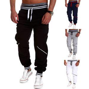 4 Couleurs Hommes Pantalons Contraste Casual Couleur Stitching sport Pantalons Streetwear Mode Pantalons piste Pantalons Hommes Jogger