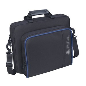 Portable Travel Carry Protective Shoulder Bags for PS4 Console Accessory Multifunctional Portable Travel Case Messenger Bag
