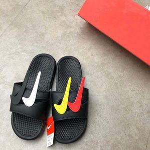 Original Nike Chinelos 22 estilo 2020 Moda antiderrapante resistentes ao desgaste Plano casa de praia Calçados masculinos New Hot Summer falhanço Man Sandália Casual