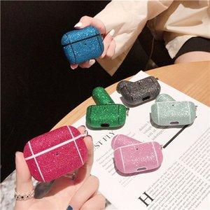 Кристалл алмаза Дело Сияющий сверкающими Бингбинг для Airpods про чехол для Apple Airpods 3 Защитная крышка