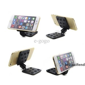 Car Windshield 360 Degree Folding 2 Side Suction Cup Sucker Mount Bracket Holder Stand for Universal Mobile Phone GPS