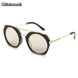 Glitztxunk Fashion Cat Eye HD Children Sunglasses Brand Designer Boys Girls Baby Safety Coating UV400 Protection Shades Eyewear