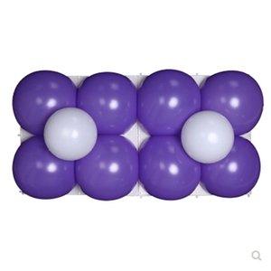 Mold Ballons Griglia mensola reticolo quadrato di plastica Sfondo splicing Frames Pallone Mesh casa del supporto Deco festa di nozze 1Ds C2