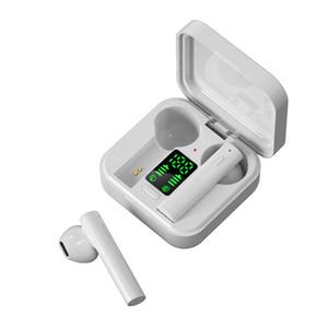 2020 mais novo carregador solar headphone air6 mais TWS Bluetooth Headphone in-ear fones de ouvido bluetooth sem fio com display LED
