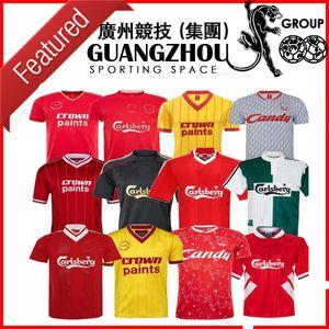Gerrard Barnes Liverpool Retro Futbol Forma 2005 96 97 10 11 TORRES 08 09 82 89 91 Maillot 85 86 acele Keane SUAREZ Futbol Gömlek