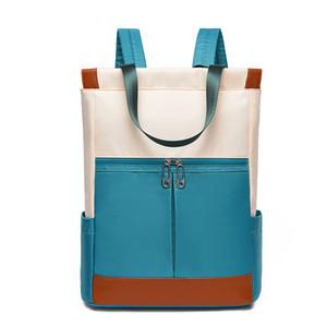 여성 나일론 백팩 여자 여러 색상 학교 가방 여성 여행 어깨 Bagpack 여성 캐주얼 Daypacks Mochilas