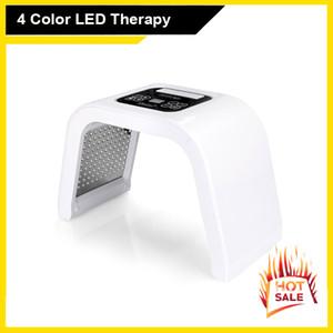 Cilt Gençleştirme Akne Temizleyici SPA Device için 4 Renk Işık LED Foton Terapi Makine Yüz Maskesi LED Işık