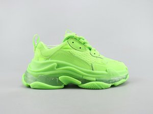 2020 Fashion Crystal Bottom Casual Shoes Triple S Track 2.0 Old Dad Sneaker Combination Nitrogen Outsole Mens Tripler Sneakers 3